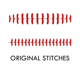 Baseball clipart seams #10