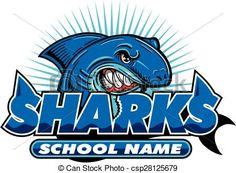 Baseball clipart shark EPS stock football royalty clip