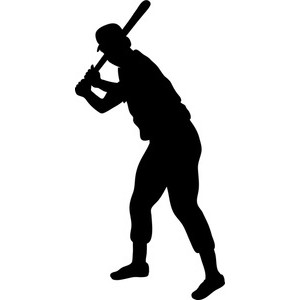 Shadow clipart softball #9