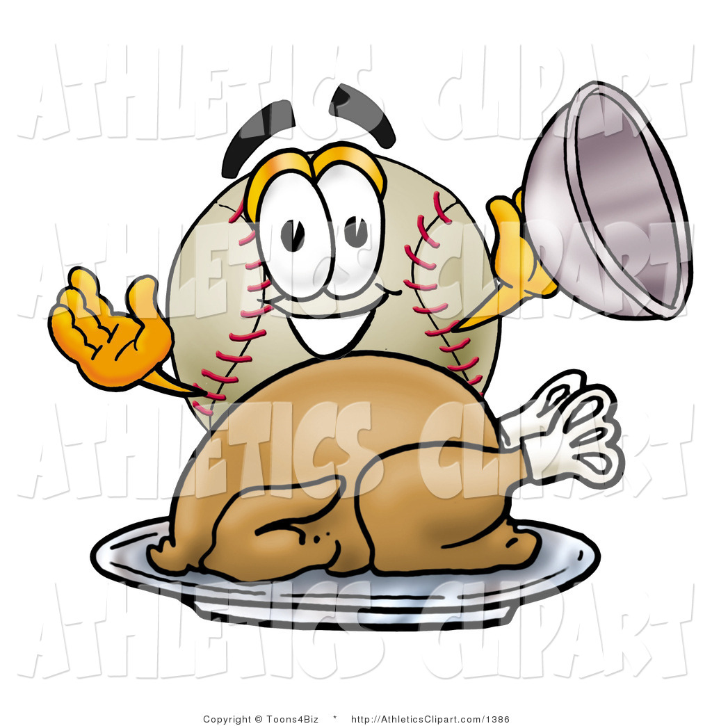 Baseball clipart thanksgiving Serving Platter Hungry of Royalty