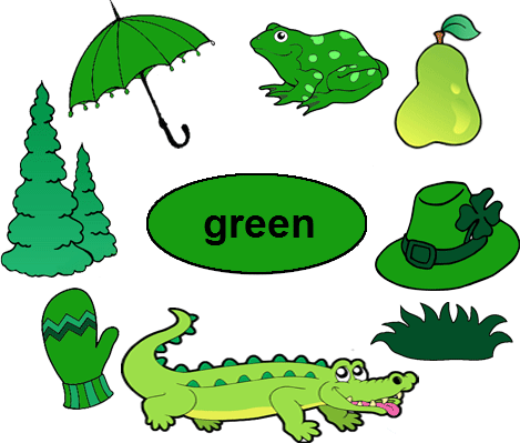 Alligator clipart green object Worksheets  for Worksheets for