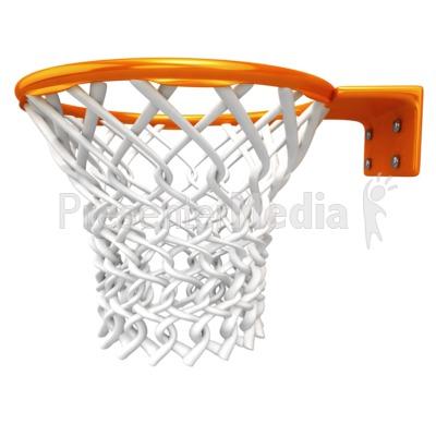 Basket clipart basketball hoop Presentation basketballs Basketball Net ID#
