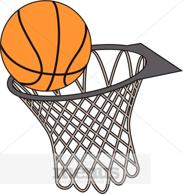 Basket clipart basketball hoop Clipart cliparts Basketball Rim Hoop