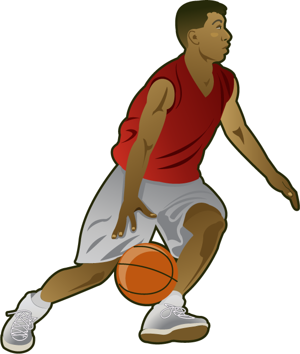 Basket clipart basketball player Basket Fort Clipart basketballplayer1 player