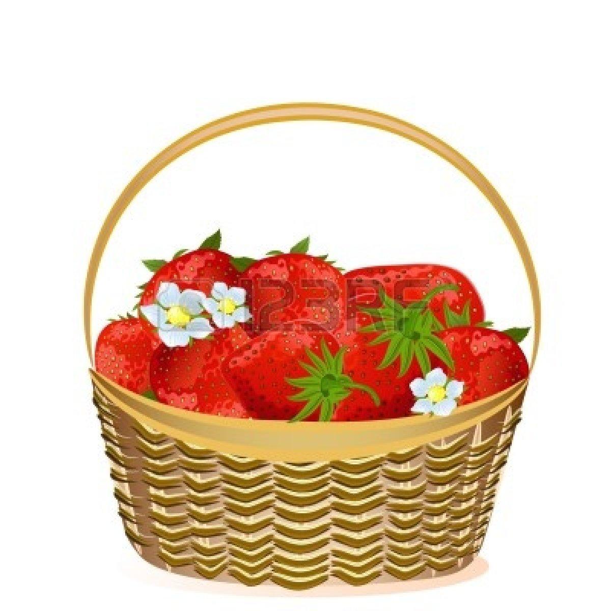 Basket clipart berry Vegetables basket clipart: berry Clipart
