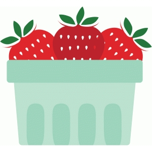 Basket clipart berry Silhouette #79184: Design Store View