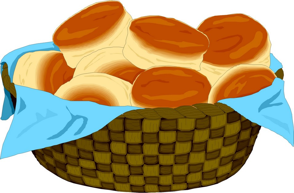 Basket clipart biscuit Basket Homemade Frugal Biscuits In