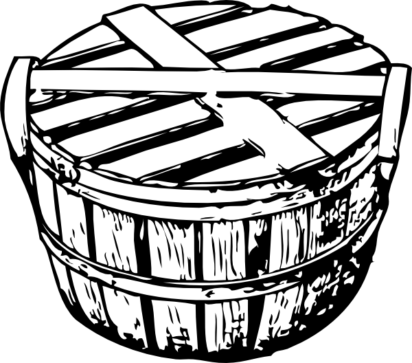 Basket clipart bushel basket At Art Cover clip image