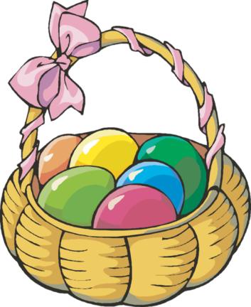 Basket clipart easter candy Art Clipart Easter > Images