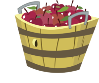 Basket clipart empty bag Empty Apple Apple clipart Basket