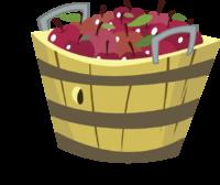 Basket clipart empty bag Empty Apple Apple Apple clipart
