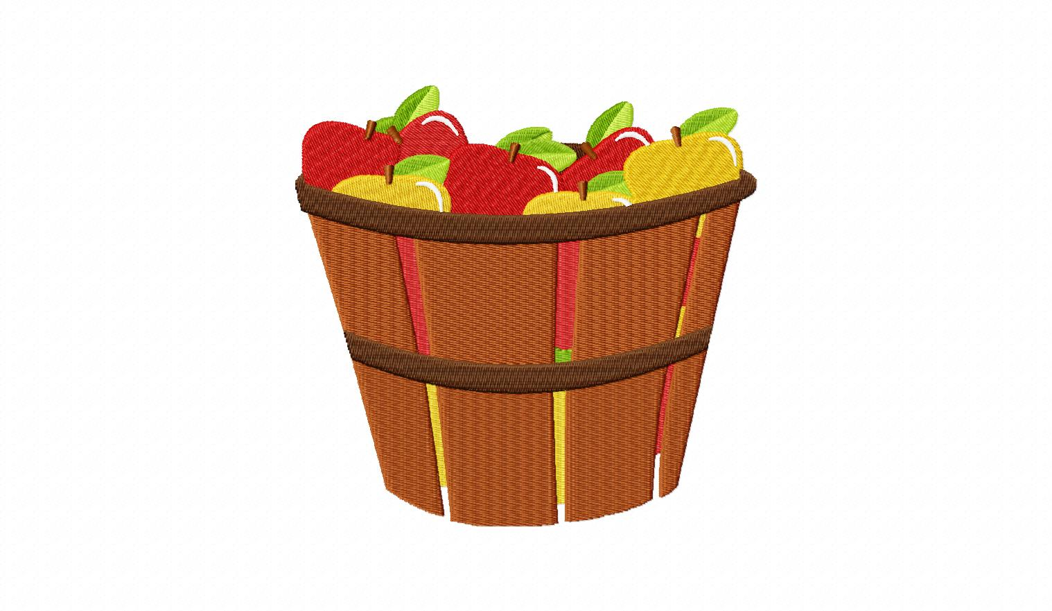 Basket clipart empty harvest Apples clipart in clipart collection