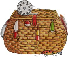Basket clipart fish Clipart Fishing Fishing Basket Download