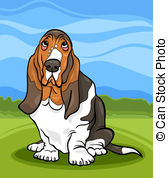 Basset Hound clipart animated Stock Illustration pictures 1 hound