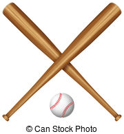 Bat clipart boll On Images ball Bat and