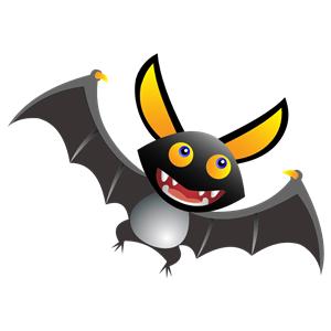 Bat clipart comic Of free Bat formats of