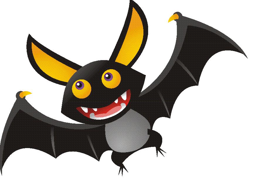 Bat clipart creepy halloween Library Clipart Friendly Ballantyne: Bats