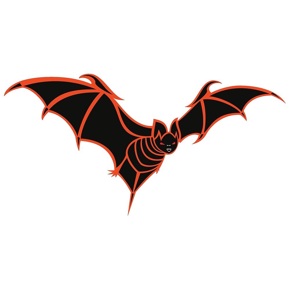 Bat clipart creepy halloween Bat Halloween by Halloween