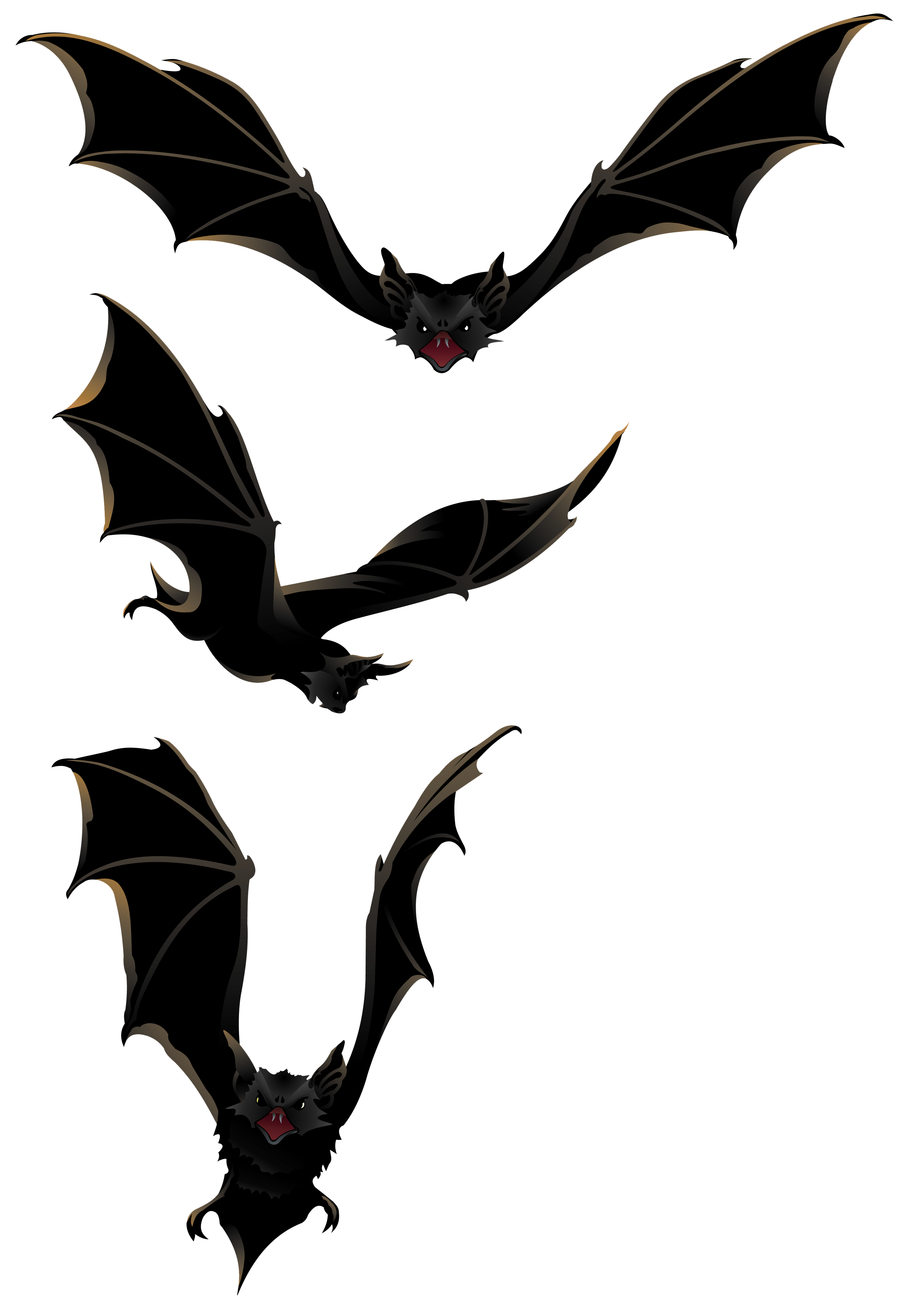 Bat clipart big black Flying collection Best clipart #4637
