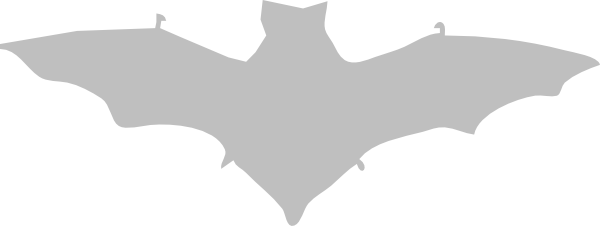 Bat clipart grey Vector com this at Art