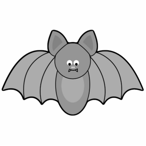 Bat clipart grey Cartoon Bats Cliparts Cartoon Cliparts