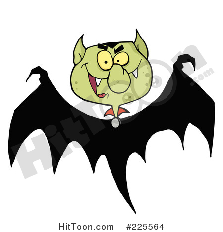 Bat clipart illustration Clipart Royalty Preview & Vector