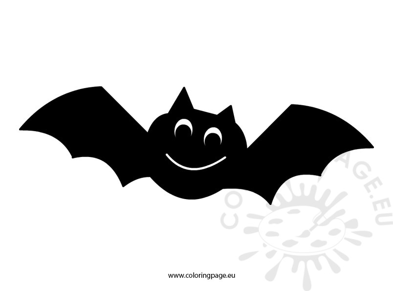 Bat clipart printable Clipart Page Coloring Halloween Bat