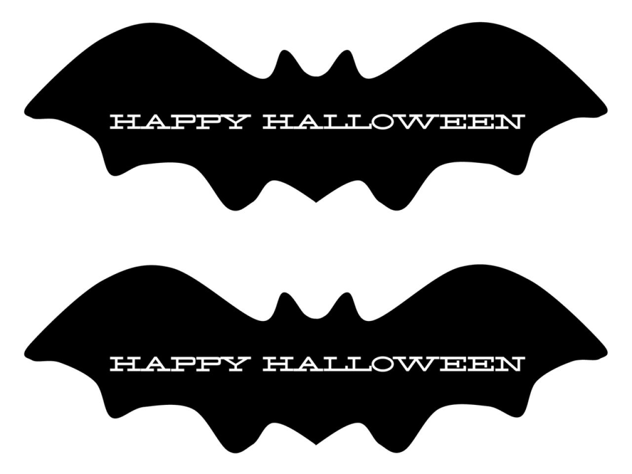Bat clipart printable halloween decoration Party  free halloween invitations