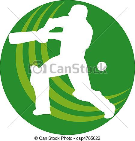 Bat clipart angry  illustration of batsman bat