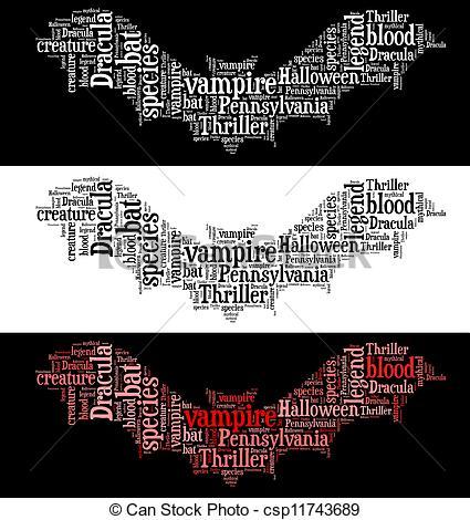 Bat clipart thriller Vampire Vampire graphic graphic bat