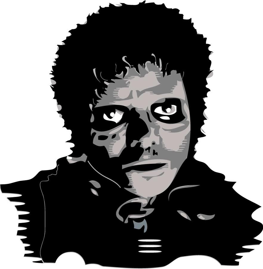 Bat clipart thriller Vector Thriller Thriller Illustration Jackson