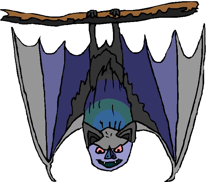 Bat clipart tooth Art Bats Clip clip Bats
