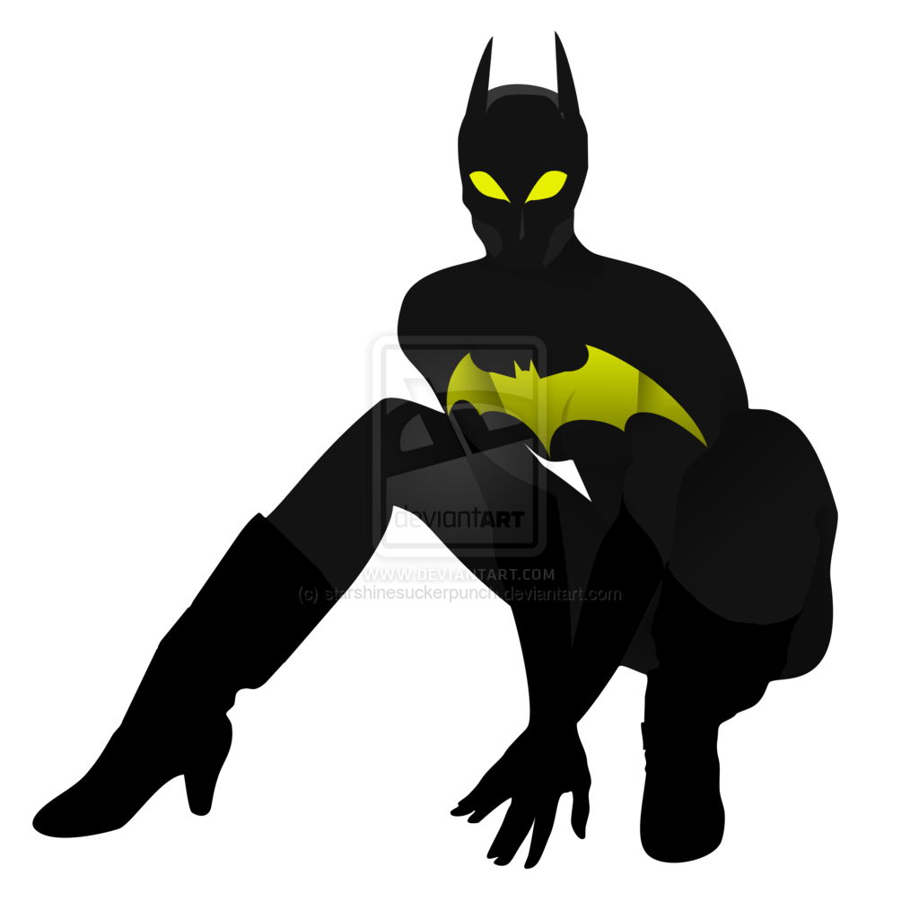 Batgirl clipart #5