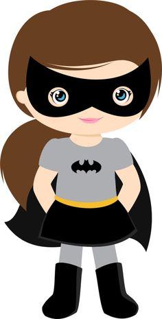 Batgirl clipart #3