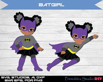 Batgirl clipart #7