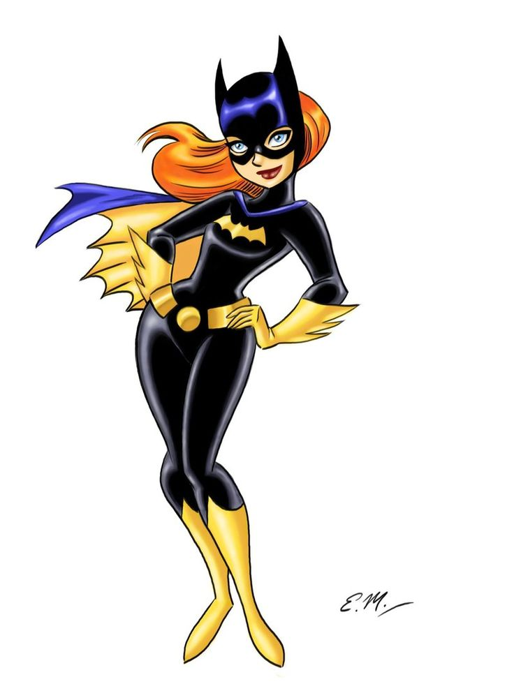 Batgirl clipart batwoman Em scribbles 2 Batgirl images