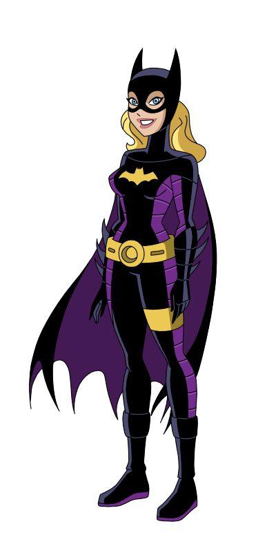 Batgirl clipart dcau Batgirl deviantart Pinterest com on