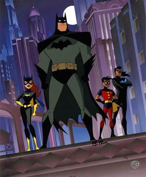 Batgirl clipart new batman adventure Digital  Retrospective Batman:TAS Polyphony