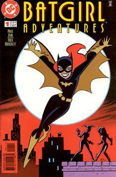 Batgirl clipart new batman adventure Bruce  Batgirl Batgirl BATFAMÍLIA