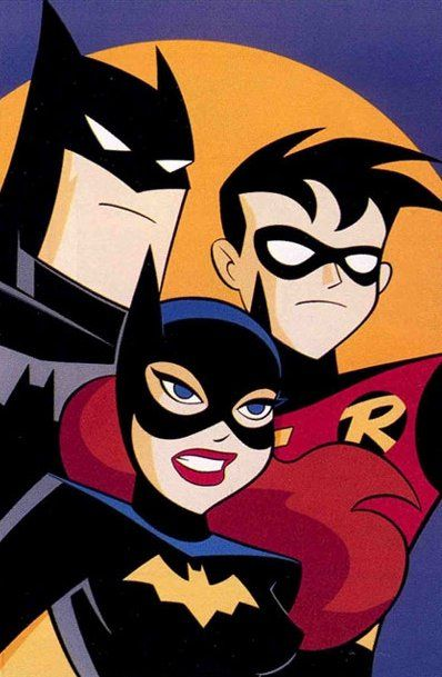 Batgirl clipart new batman adventure Adventures 1999) The Pinterest cartoon