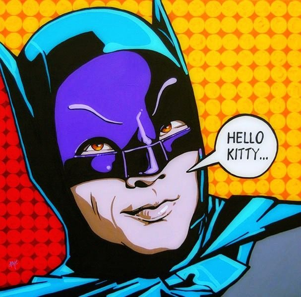 Batgirl clipart pop art Best Batman Pinterest art Batman