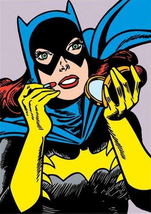 Batgirl clipart pop art #11