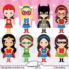 Superhero super girls hero