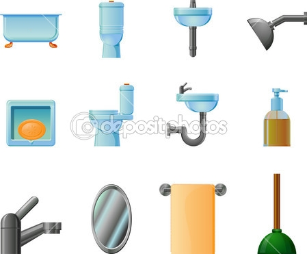 Bathroom clipart background Items clipartsgram Items com Bathroom