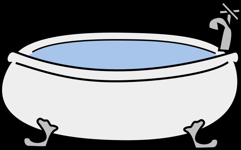 Book clipart tub Clip to Public Domain Clipart