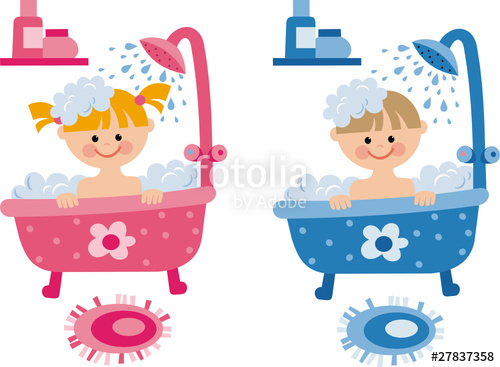 Bathroom clipart kid shower Bathroom Kids clipart info Bathroom