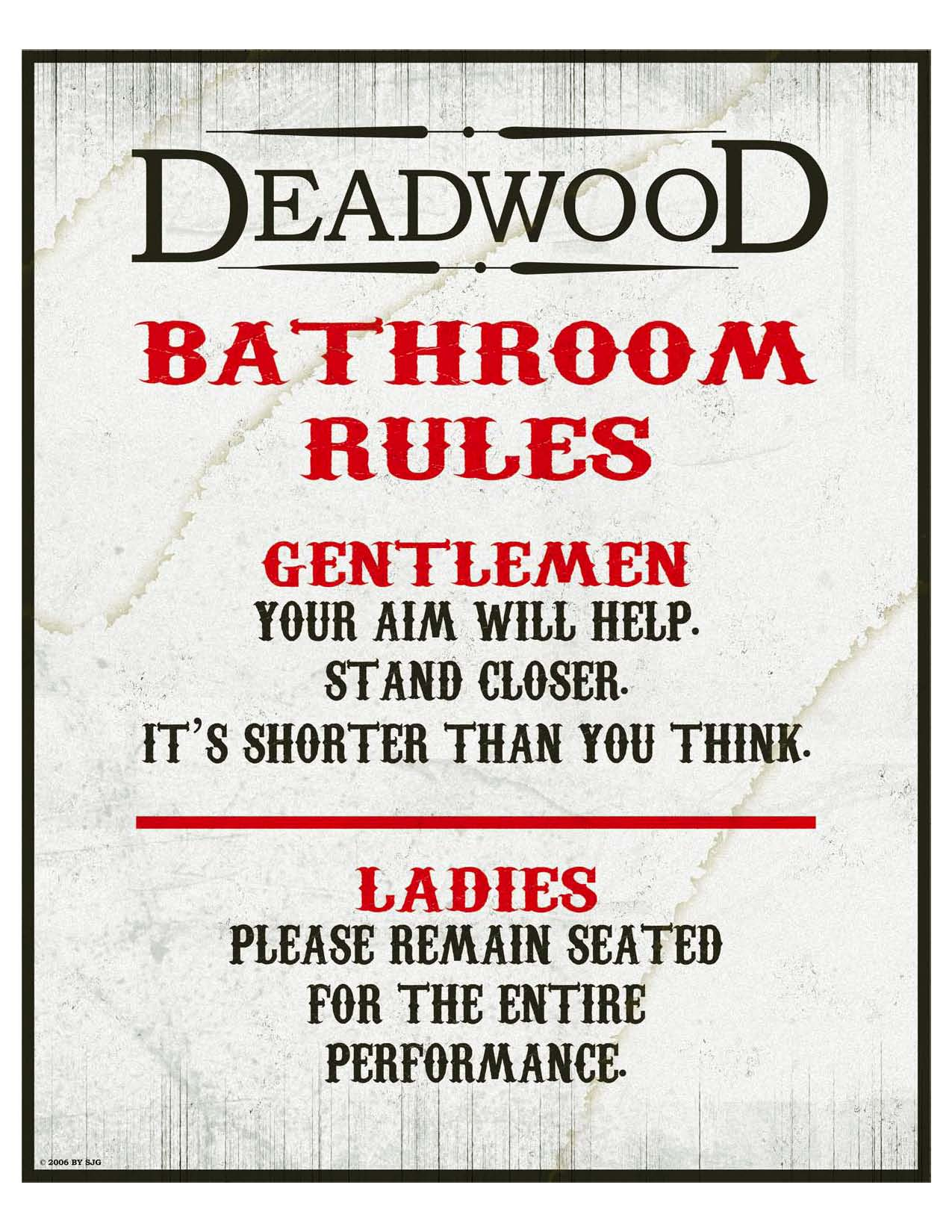 Bathroom clipart taps Bathroom Etiquette Bathroom: Flush Signs