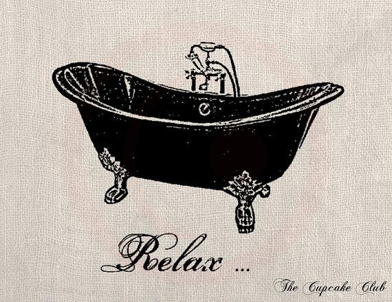 Bathtub clipart vintage Bathtub Clipart Bath cliparts Vintage