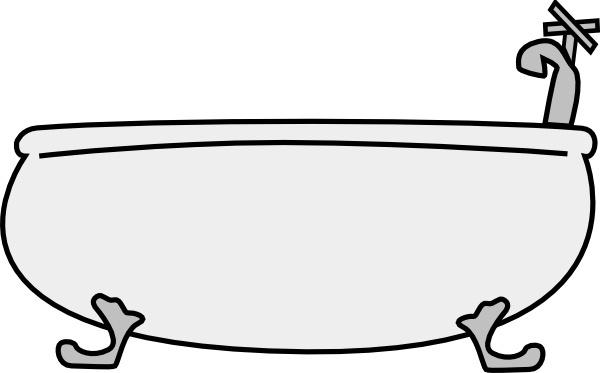 Bathtub clipart Clip in Open Free clip