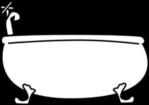 Bathtub clipart Clip com vector at Clip